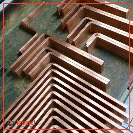 Barra de cobre para painel