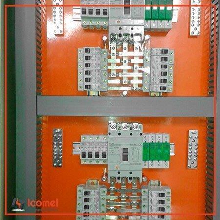 Barramento de cobre para qdc